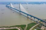 จีนสร้างสะพานรถยนต์-รถไฟข้ามแม่น้ำยาวกว่า 1 กม.แห่งแรกของโลกแล้วเสร็จ