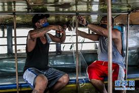 菲律宾新冠确诊病例超4万 单日新增创新高