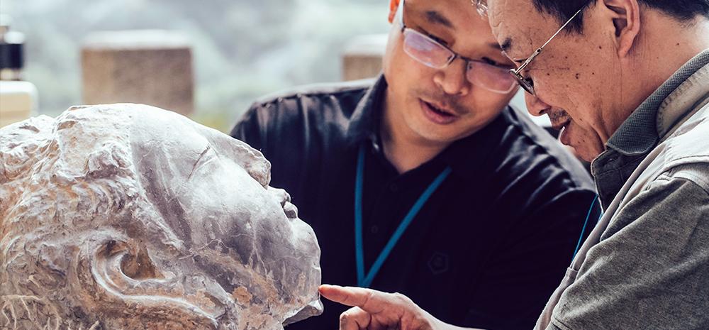 当3D打印技术遇到千年石窟
