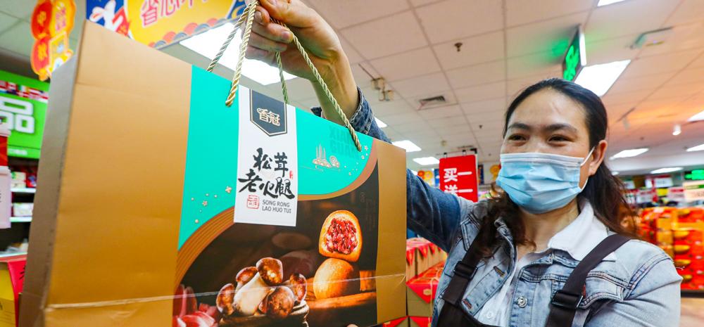 昆明月饼市场倡导节约理性消费新风尚
