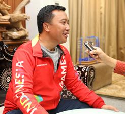 Á vận hội Gia-các-ta sắp diễn ra – Bộ trưởng Thể thao In-đô-nê-xi-a ch