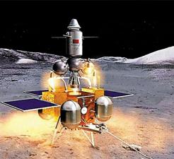 Tàu Hằng Nga 5 đi vào quỹ đạo quanh mặt trăng