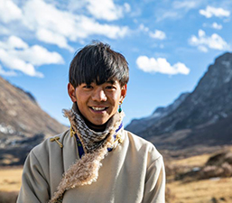 """""""ติงเจิน"""" ทูตวัฒนธรรมท่องเที่ยวชนชาติทิเบต"""
