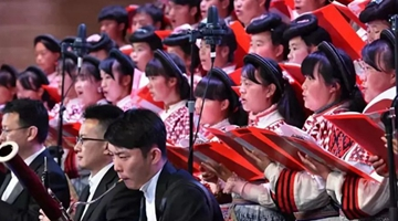 Angelic tunes from Xiaoshuijing choir