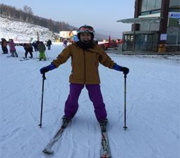 Người Việt Nam đang sinh sống tại Bắc Kinh Tô Trương Thị Hồng Hoài: Trượt tuyết đã trở thành lối sống của tôi