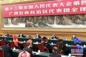 李克强参加广西代表团审议
