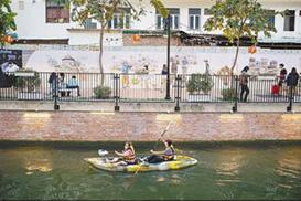 曼谷运河旧貌换新颜