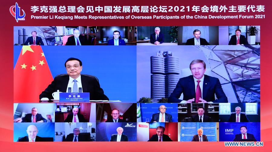 China strives for quality, efficiency in economic growth: Premier Li