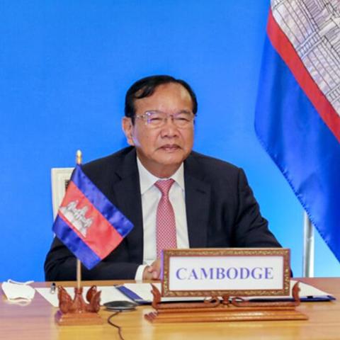 柬中通过澜湄机制框架加强合作