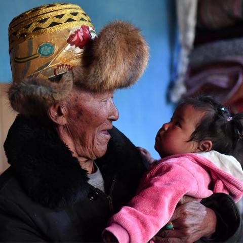 苦难和新生——西藏翻身农奴影像档案:巴桑
