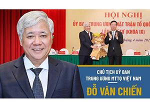 Chủ tịch Chính hiệp Trung Quốc Uông Dương gửi điện chúc mừng ông Đỗ Văn Chi