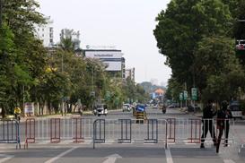 """柬埔寨首都金边""""封城""""两周以阻疫情蔓延"""