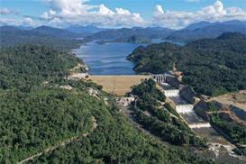 老挝南公1水电站正式投产发电