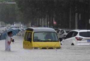 น้ำท่วมหนักเมืองเจิ้งโจวมณฑลเหอหนาน ดับ 12 ราย