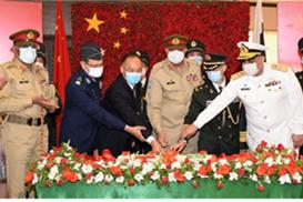 巴基斯坦陆军参谋长举办招待会庆祝中国人民解放军建军94周年