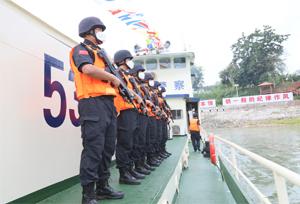 จีน-ลาว-เมียนมา-ไทย เริ่มลาดตระเวนร่วมแม่น้ำโขงครั้งที่ 110