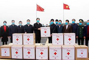 Trung Quốc quyên tặng 5,7 triệu liều vắc-xin Covid-19 cho Việt Nam