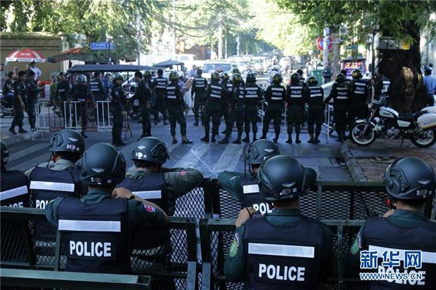 柬埔寨最高法院裁决解散救国党