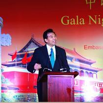 驻印度使馆举办中印青年联欢晚会