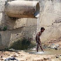 印度新德里持续高温