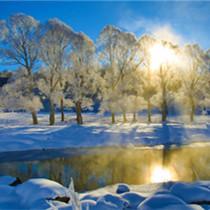梦幻阿尔山冰雪旅游渐成气候