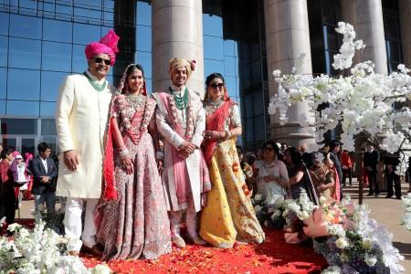 冬日里的一场异国婚礼