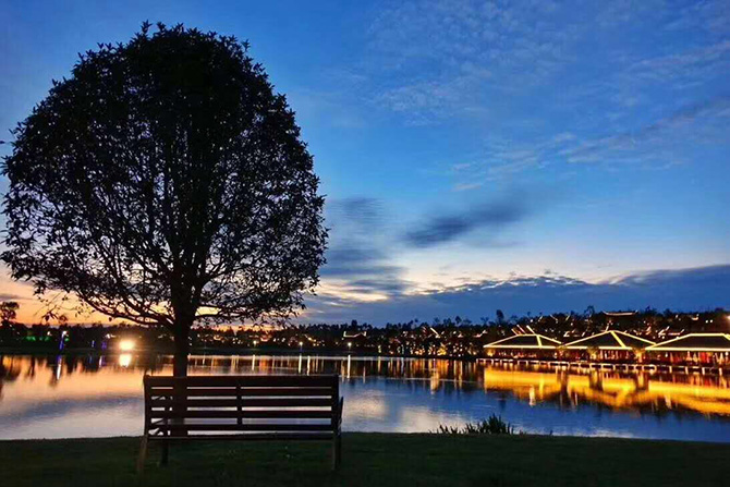 国庆哪里玩?去太平湖国际旅游度假区住木屋、赏花海、听论坛……