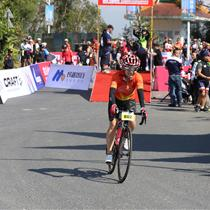 2018七彩云南格兰芬多国际自行车节序幕赛芒市个人计时赛开赛