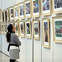云南省庆祝改革开放40周年 美术书法摄影作品展开幕