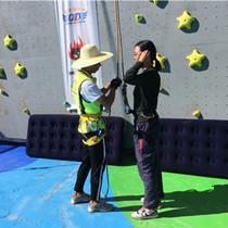 攀岩比赛!别人家的学校运动会