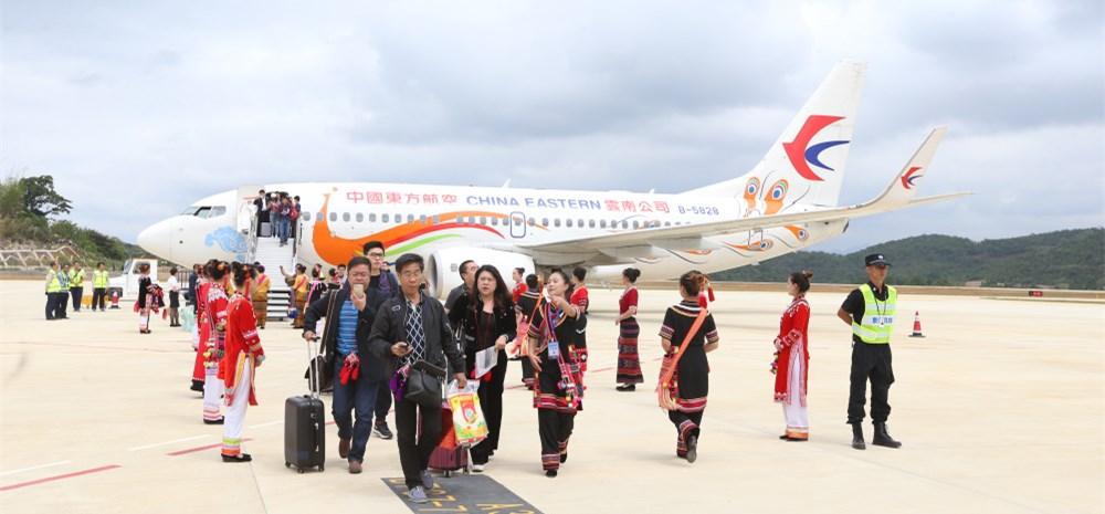 澜沧景迈机场通航 从昆明到澜沧县只需50分钟