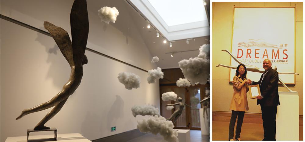 """《造梦—马丁雕塑作品展》昆明开展 一场让你""""入梦""""的雕塑展"""
