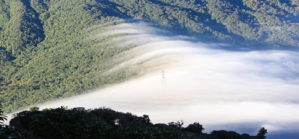 云雾缭绕的金平分水岭国家级自然保护区