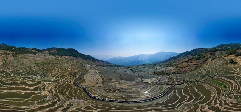 云南红河县:不到撒玛坝,不知梯田大
