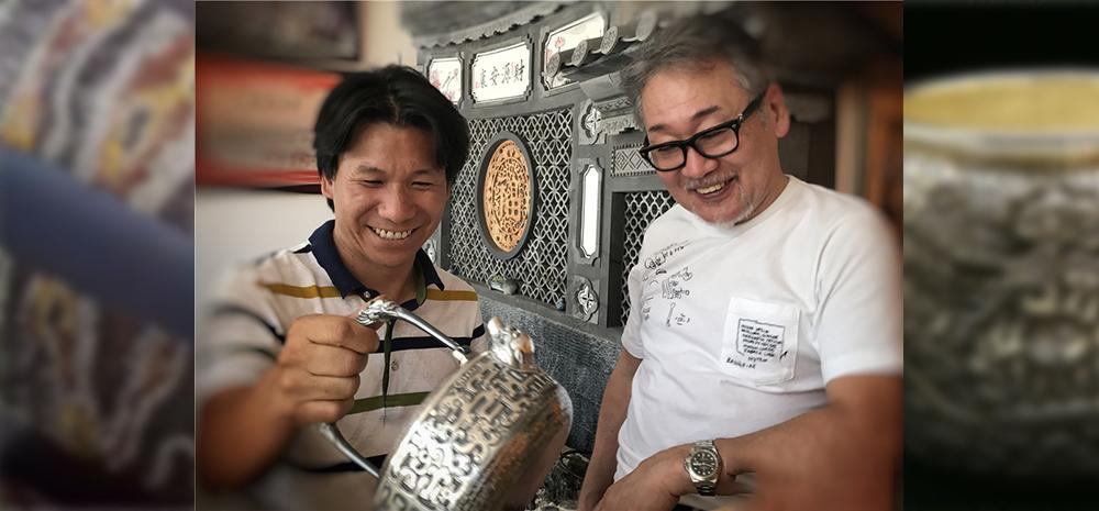 云南这个地方的银器吸引了日本专家的关注