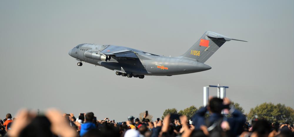 空军以全盛阵容展翅长春庆祝成立70周年