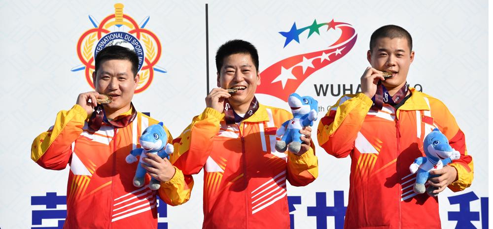 射击——中国代表团首金产生