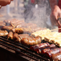 在普洱,有一种美食叫磨黑烧烤