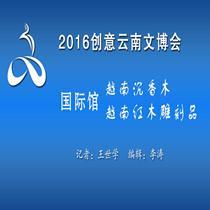 2016创意云南文博会—越南沉香木