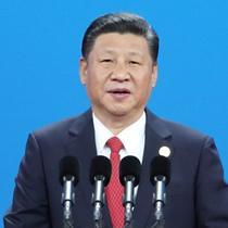 习近平出席高峰论坛开幕式并发表主旨演讲
