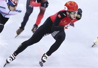 Wu Dajing wins China's first gold at PyeongChang 2018 with world record