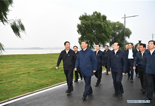 Xi stresses ecological protection and high-quality development of Yellow River