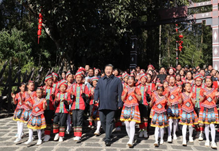 Xi visits Yunnan on inspection tour ahead of Chinese New Year