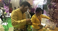 Thai orchid joins hands with Chinese Ali-auction