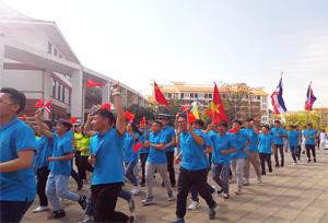 เยาวชนจาก 6 ประเทศมารวมตัวกันที่คุนหมิงเมืองแห่งฤดูใบไม้ผลิ เพื่อร่วมสนุกกับกิจกรรม