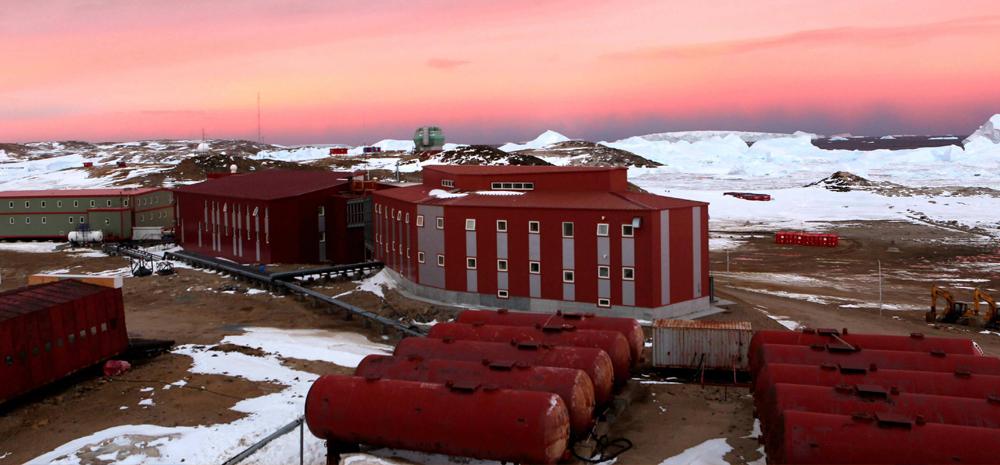 """""""เมืองวิทย์บนแผ่นน้ำแข็ง""""! ครบรอบ 30 ปีการก่อตั้งสถานีวิจัยจงซานจีน บนทวีปแอนตาร์กติกา"""