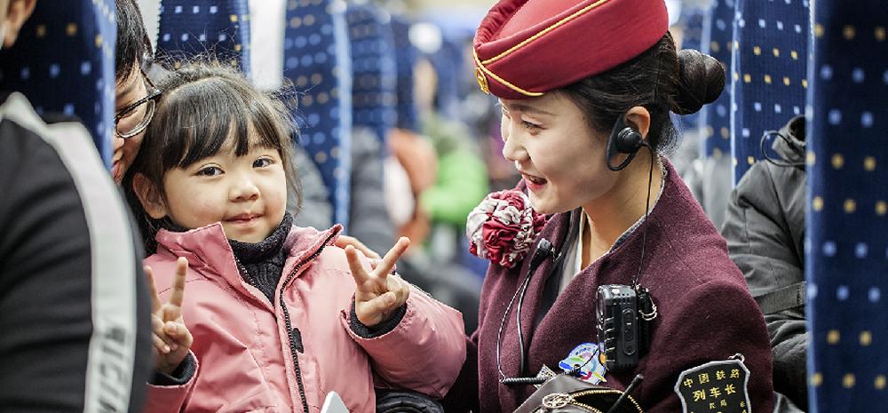 ในช่วงตรุษจีน รถไฟยูนนานสามารถขนส่งผู้โดยสารจำนวน 8.70 ล้านคน/ครั้ง