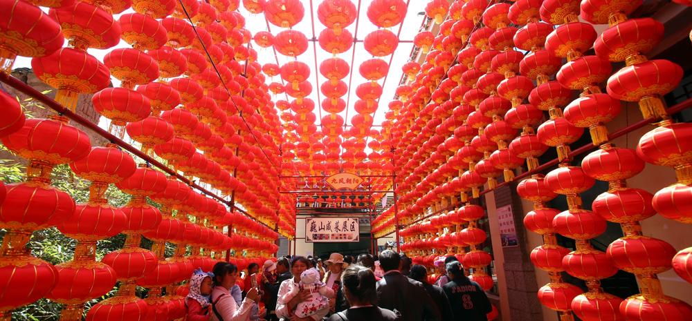 พิธีเปิดงานเทศกาลอาหารทานเล่น ครั้งที่ 9 จัดขึ้นที่อำเภอเวยซาน เมืองต้าหลี่ ประเทศจีน