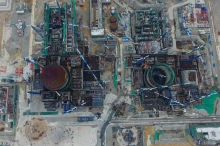 คืบหน้า!โรงไฟฟ้านิวเคลียร์เทคโนโลยีจีนในฝูเจี้ยน