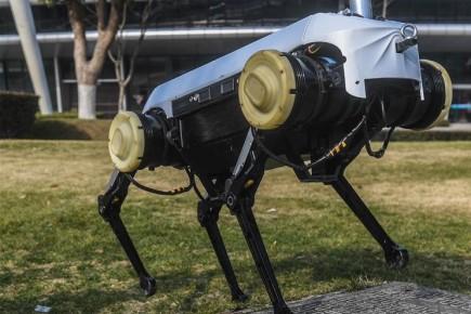 """หุ่นยนต์ไม่รู้ล้ม! มหา'ลัยจีนเปิดตัว """"เจวี๋ยหยิ่ง"""" ใช้เทคนิคก้าวเล็กๆ แต่มั่นคง"""